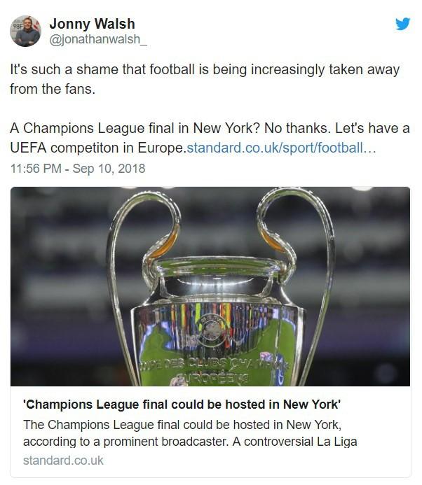Chung kết Champions League đá tại Mỹ: CĐV châu Âu nổi điên, CĐV Việt Nam phấn khởi - Ảnh 5.