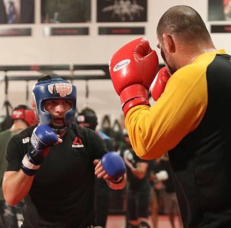 Cain Velasquez và Luke Rockhold giúp Khabib chuẩn bị trận đấu với Conor - Ảnh 7.