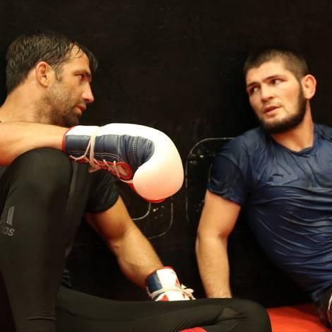 Cain Velasquez và Luke Rockhold giúp Khabib chuẩn bị trận đấu với Conor - Ảnh 10.