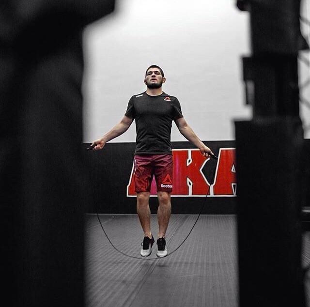 Cain Velasquez và Luke Rockhold giúp Khabib chuẩn bị trận đấu với Conor - Ảnh 16.