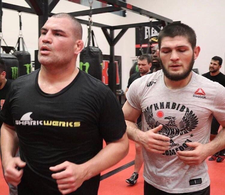 Cain Velasquez và Luke Rockhold giúp Khabib chuẩn bị trận đấu với Conor - Ảnh 9.