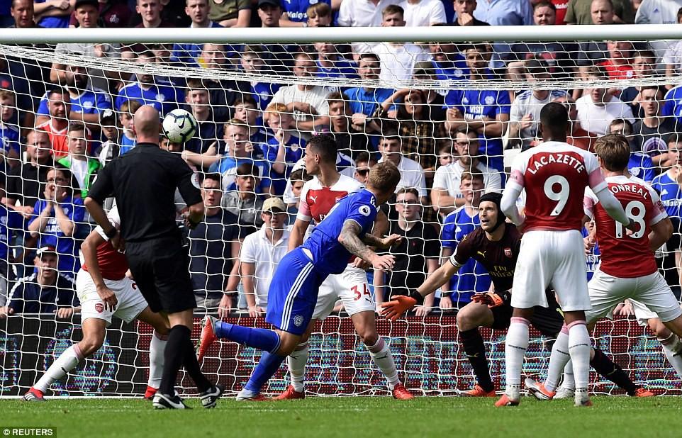 Thống kê siêu khủng của Pháo hai nòng và Top 5 điểm nhấn trận Arsenal - Cardiff City - Ảnh 9.