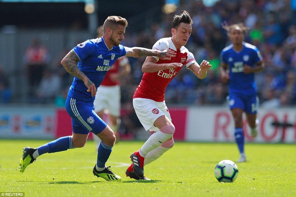 Thống kê siêu khủng của Pháo hai nòng và Top 5 điểm nhấn trận Arsenal - Cardiff City - Ảnh 8.
