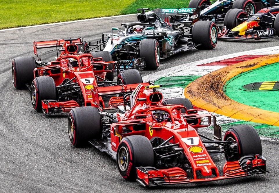 Italian GP 2018: Va chạm nảy lửa với Vettel, Hamilton vẫn lên ngôi đầy kịch tính - Ảnh 2.