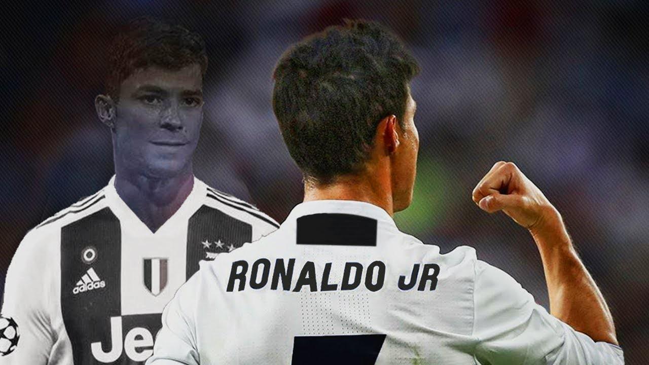 Ronaldo bố vẫn tịt ngòi ở Juventus, Ronaldo con đã nổ súng ầm ầm - Ảnh 4.