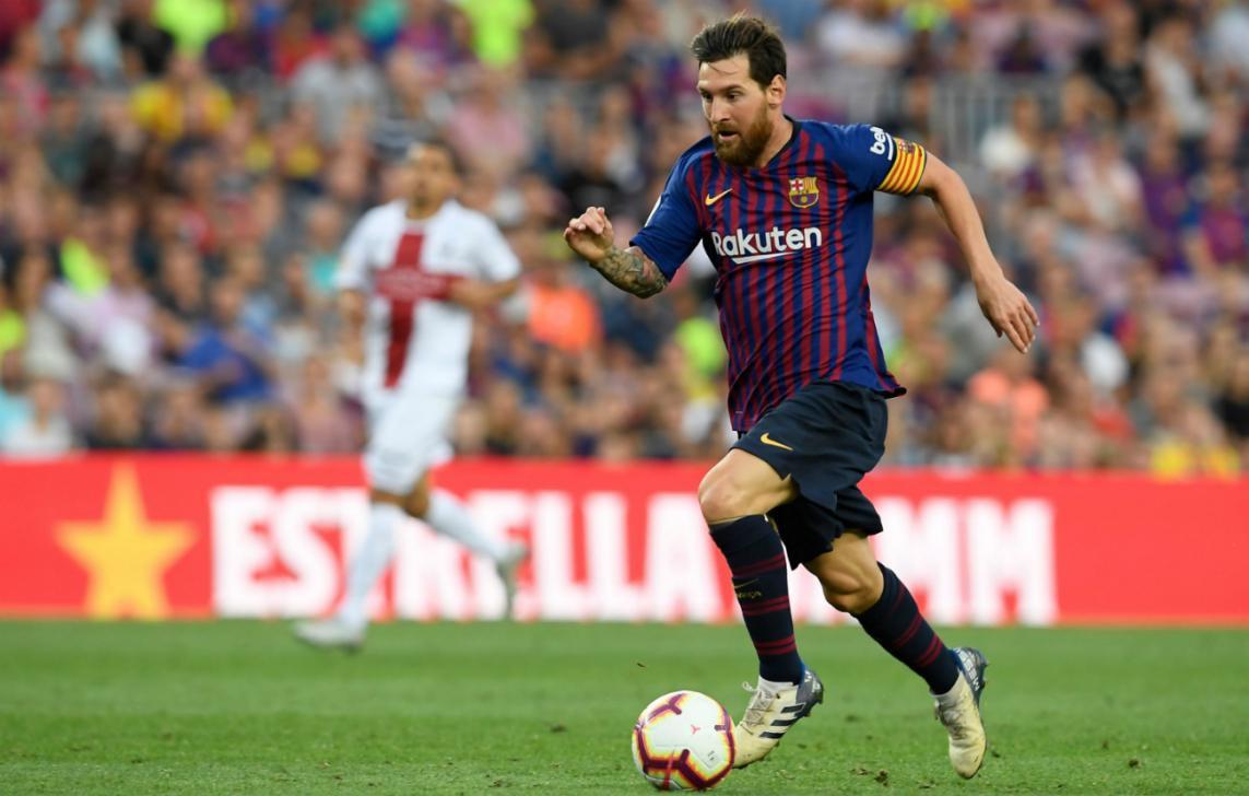 Khi Ronaldo tịt ngòi, Messi bùng nổ khó tin như để mỉa mai giải FIFA The Best 2018  - Ảnh 4.