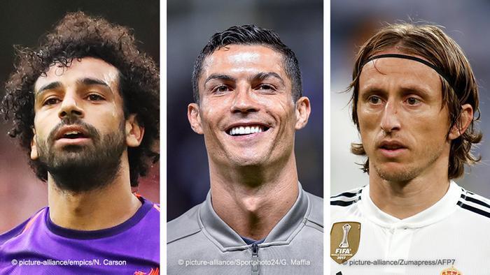 Modric đang vượt cả Ronaldo và Salah trong cuộc bầu chọn Cầu thủ xuất sắc nhất năm của FIFA - Ảnh 1.