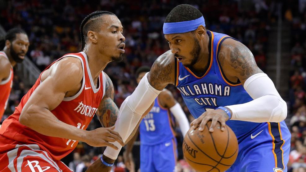 Quyết thoát kiếp làm tạ, Carmelo Anthony nỗ lực giảm cân và tập ném để giành cúp với Houston Rockets - Ảnh 1.