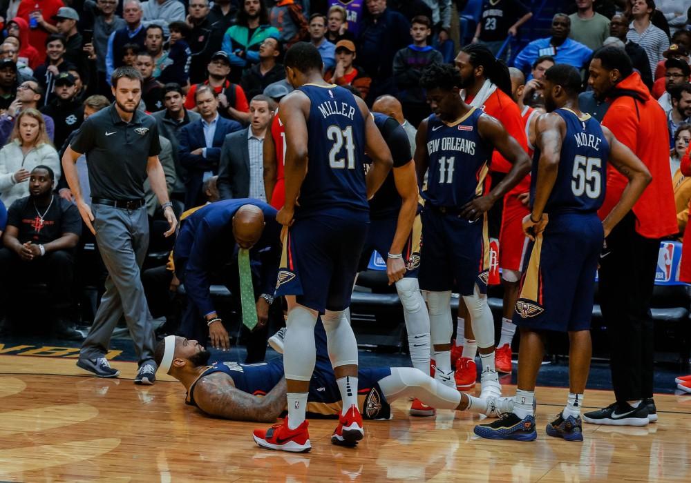 LeBron James buột miệng buông xuôi khi nhìn Cousins tập luyện - Ảnh 2.