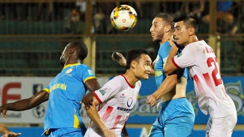 Trực tiếp V.League 2018 vòng 21: Nam Định FC - Sanna Khánh Hòa BVN - Ảnh 1.