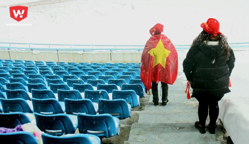Dù thất bại ở trận chung kết, U23 Việt Nam vẫn là đội tuyển chiến thắng trong lòng người hâm mộ Việt Nam, dù mọi thứ chưa đi đến hồi trọn vẹn. Hình ảnh: Trung Thu.