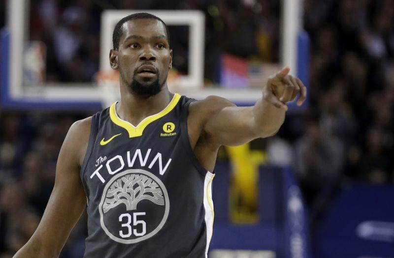Durant đã nhẹ nhàng đi nhiều trong khoảng thời gian gần đây.