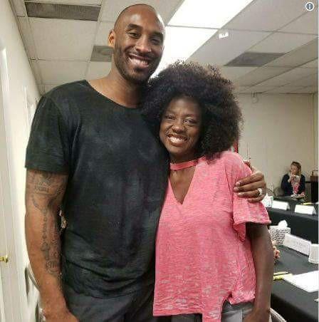Kobe Bryant có thể sẽ tham gia đóng phim với Viola Davis