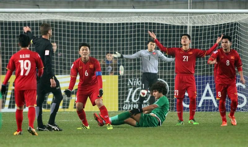 U23 Việt Nam đang chờ đá giao lưu với MU