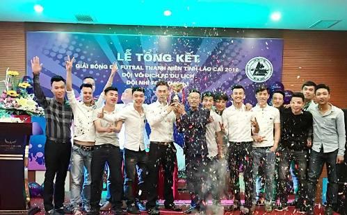 FC Du Lịch vô địch giải futsal TN Lào Cai 2016
