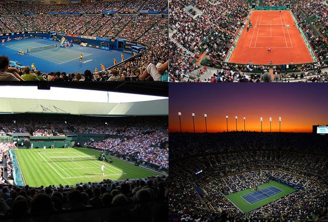 4 giải Grand Slam của quần vợt
