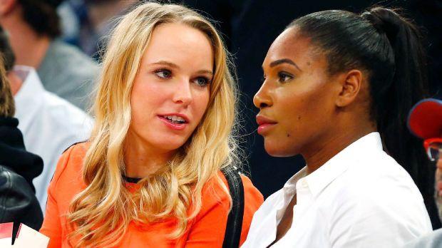 Serena và Wozniacki