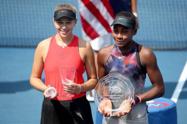 Anisimova vô địch US Open 2017 trẻ sau khi đánh bại Cori Gauff