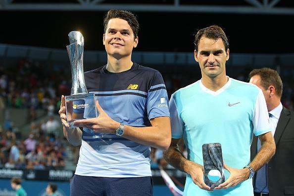 Raonic đánh bại Federer để vô địch Brisbane International 2016