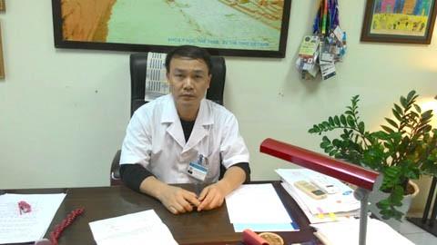 Bác sĩ Nguyễn Văn Phú (Phó Giám đốc Bệnh viện Thể thao Việt Nam).