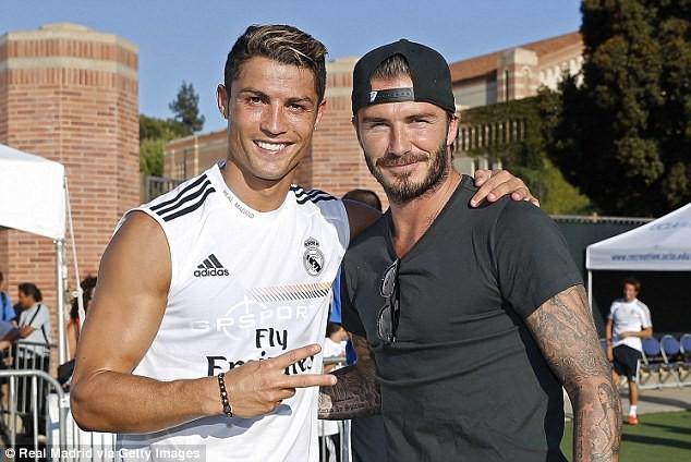 Ronaldo và Becks