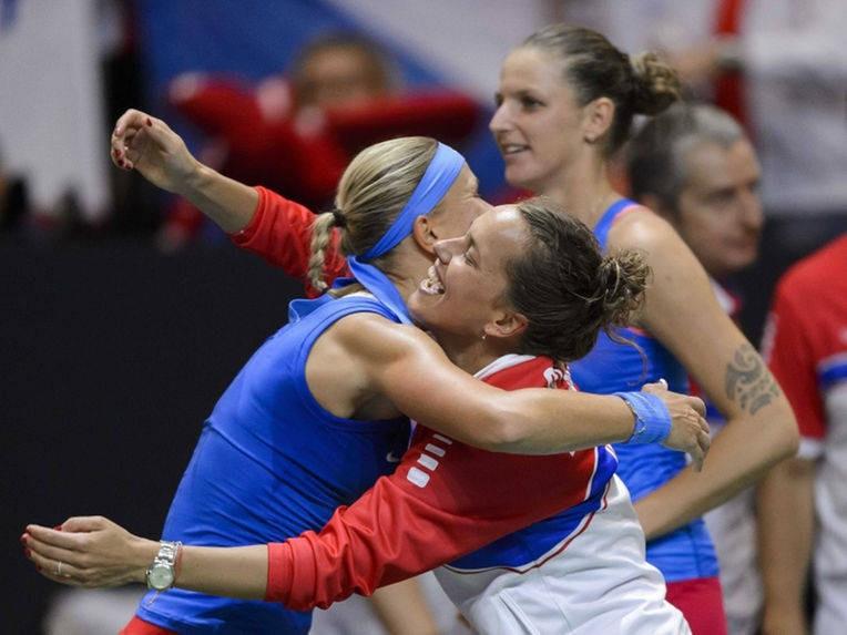 CH Séc năm thứ 3 liên tiếp lọt vào chung kết Fed Cup