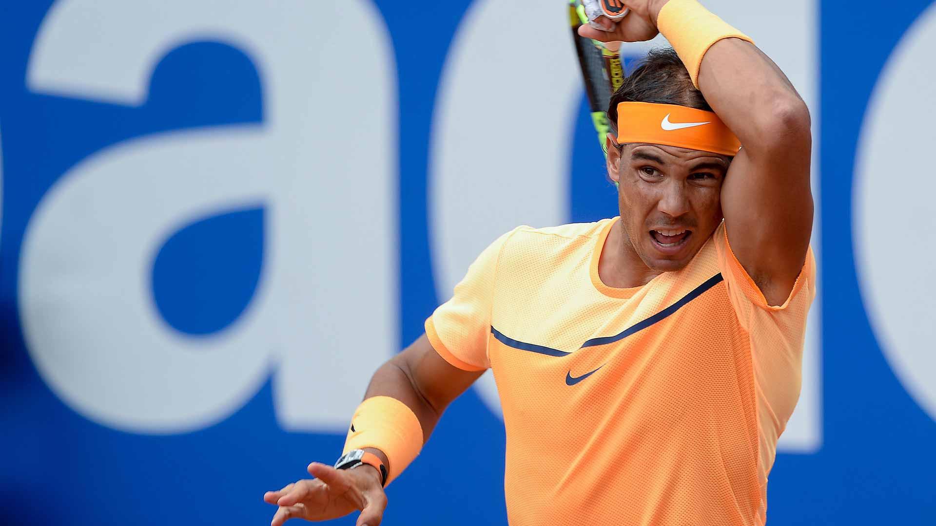Nadal đã chủ động tấn công hơn trong thời gian vừa qua