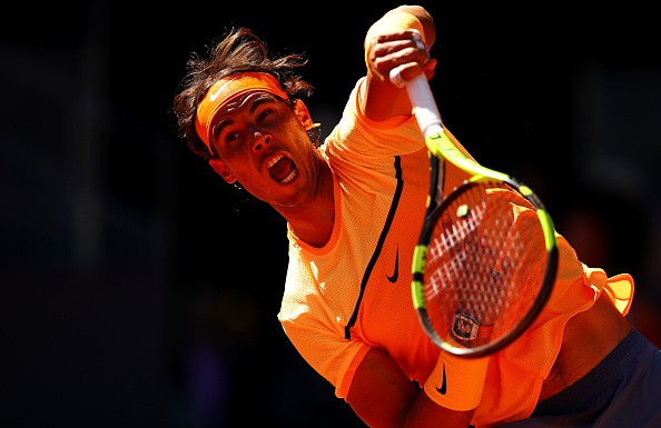 Nadal giành vé đi tiếp vào vòng 3 Madrid Open