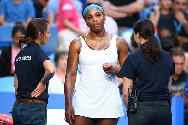 Serena đang có sự khởi đầu không tốt trong năm 2016
