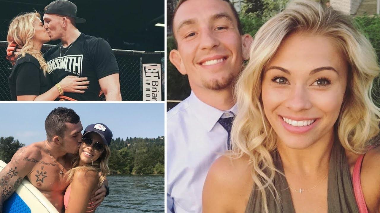 Paige VanZant rất hạnh phúc bên bạn trai Austin Vanderford