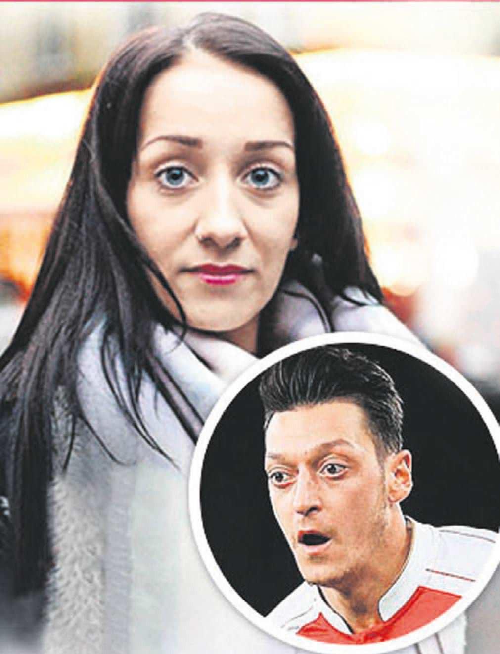 Denise K tự nhận là em gái của Mesut Oezil