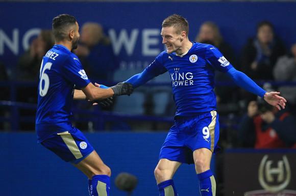 Bộ đôi Jamie Vardy và Riyad Mahrez đã ghi 39 bàn cho Leicester ở Premier League mùa này