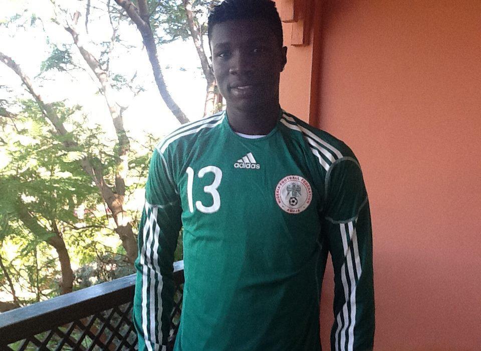 Chân sút Odah đang là tuyển thủ QG Nigeria
