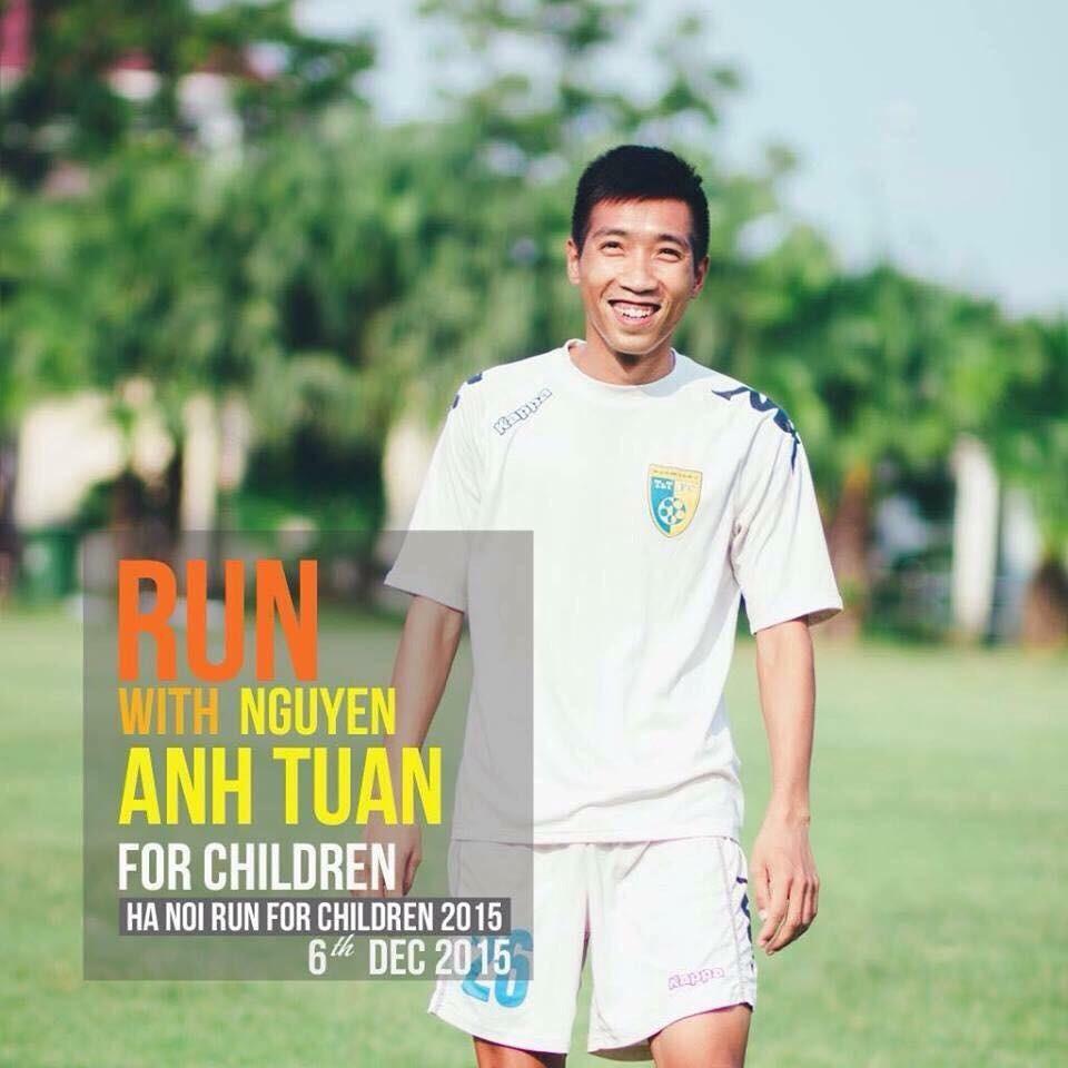 Tiền vệ Nguyễn Anh Tuấn (Ảnh: HN.&T)