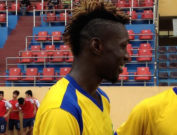 Tiền đạo Odar đang là tuyển thủ quốc gia Nigeria