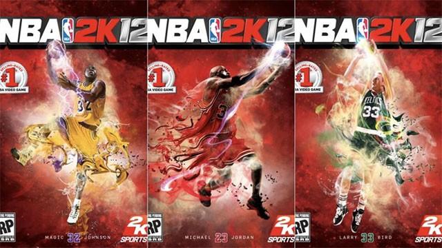 NBA 2k12 sử dụng đồng thời Magic Johnson, Michael Jordan và Larry Bird. Không gây ra vấn đề lời nguyền nhưng chỉ khiến cho doanh số dòng game sụt giảm.