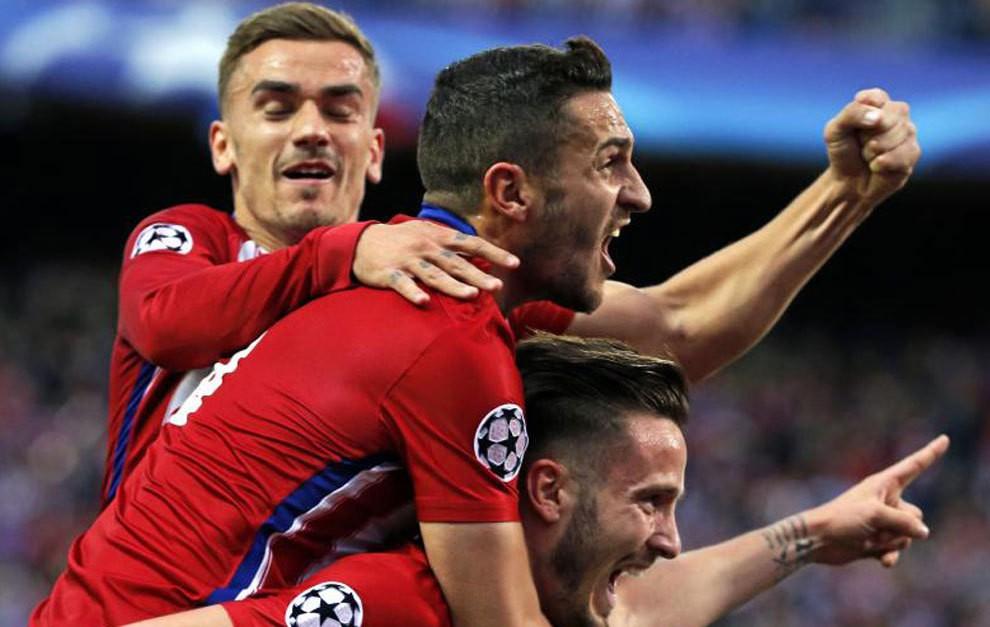 Năng lực phản công của Atletico rất đáng gờm.