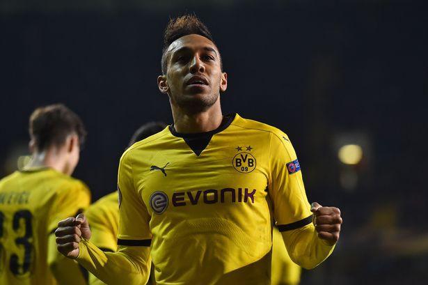 Pierre-Emerick Aubameyang (Dortmund) thích Real Madrid hơn Man Utd.
