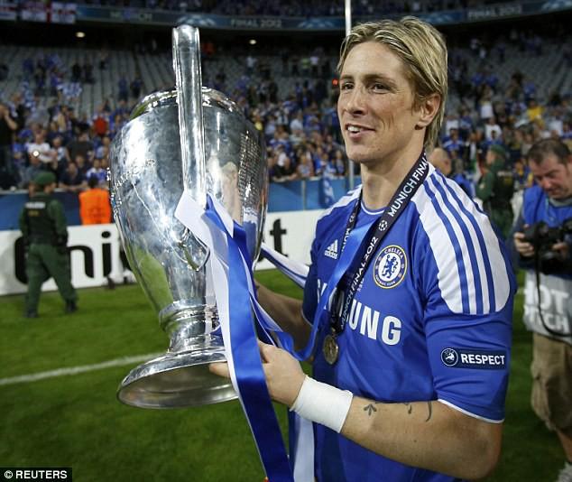 El Nino vô địch Champions League năm 2012 khi hạ Bayern Munich.
