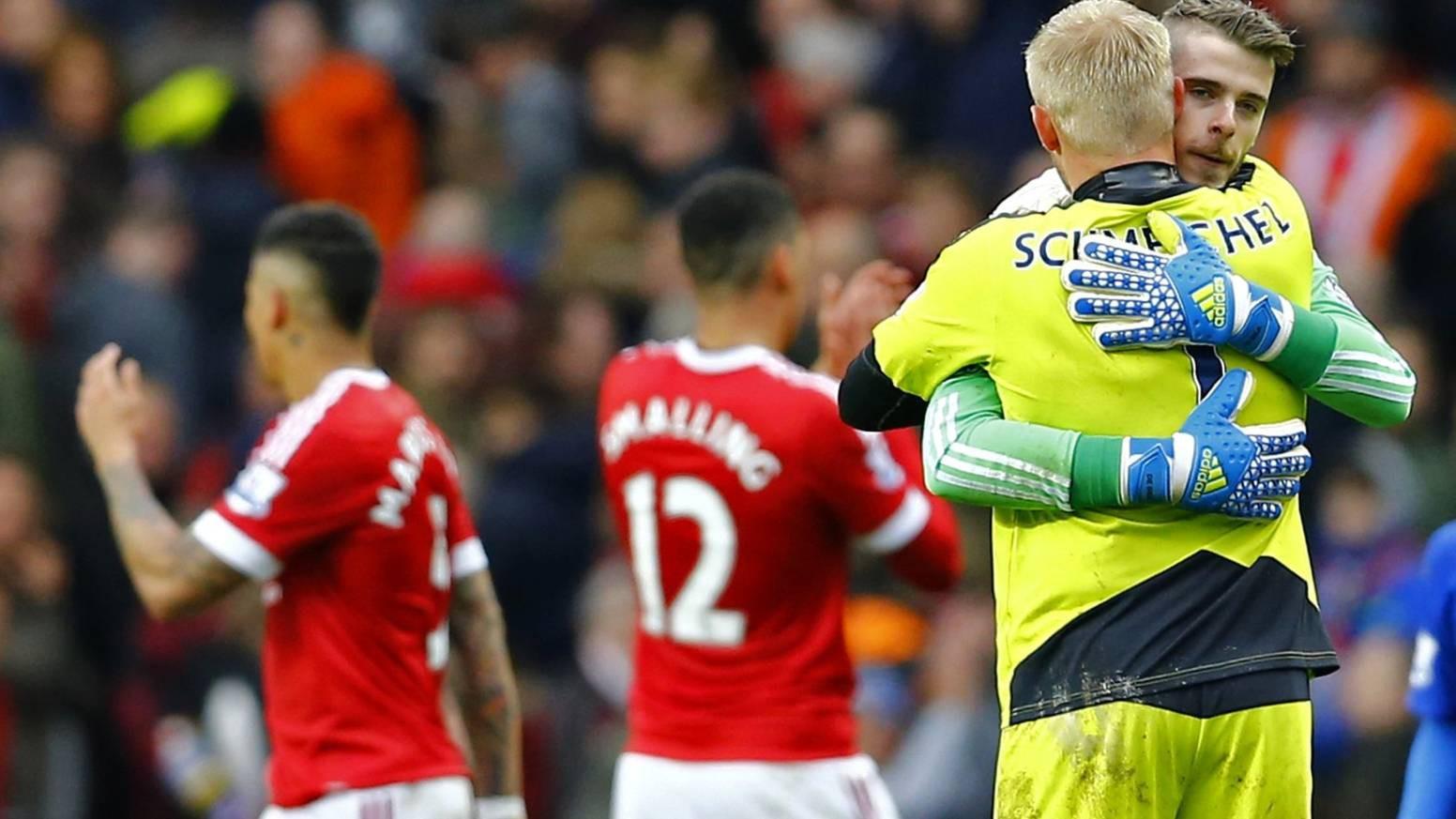 Tài năng của hai thủ môn khiến Man Utd và Leicester chẳng thể phân thắng thua.