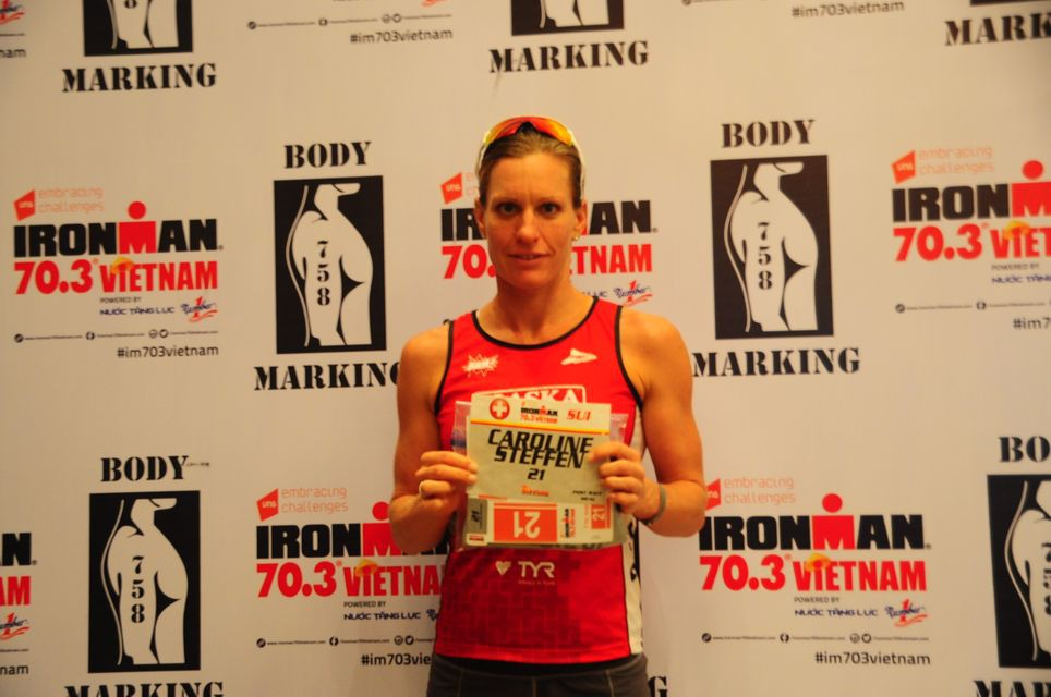 Caroline Steffen đến Việt Nam với sứ mệnh bảo vệ chức vô địch IRONMAN 70.3 Vietnam nội dung Nữ