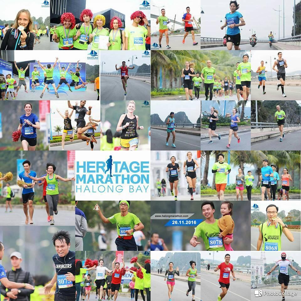 Halong Heritage Marathon - ''Chạy trên di sản''. Các VĐV có cơ hội cảm nhận vẻ đẹp di sản thiên nhiên thế giới Hạ Long theo cách đặc biệt