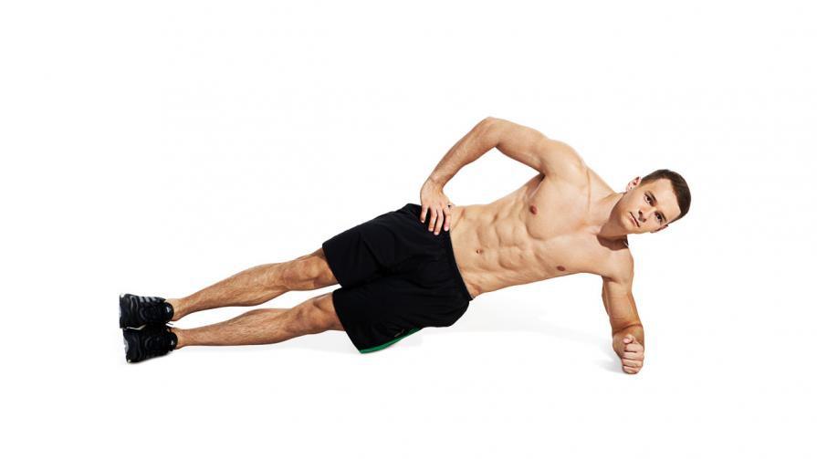 Side Plank cần giữ phần cơ thể vuông góc với mặt sàn