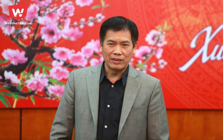 Ông Trần Đức Phấn, Tổng cục phó Tổng cục TDTT phát biểu. Ảnh: Hài Đăng