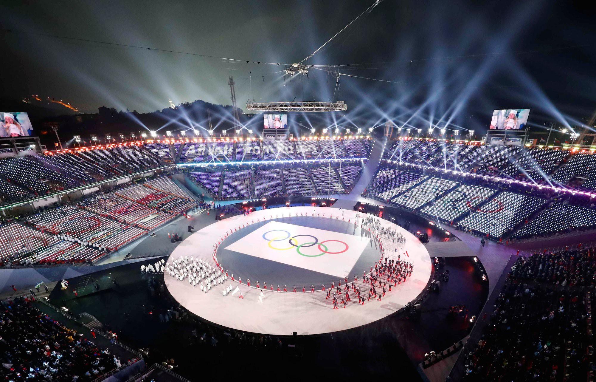 SVĐ Olympic PyeongChang với sức chứa 35.000 khán giả