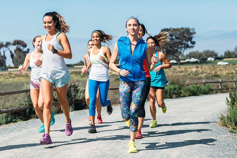 Các cự ly 5km, 10km phù hợp với những người mới bắt đầu tập chạy bộ