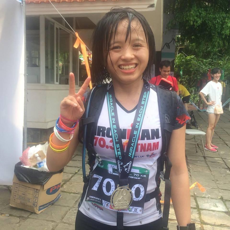 Á quân 70km Nguyễn Thị Đường, VĐV nữ Việt Nam xuất sắc nhất