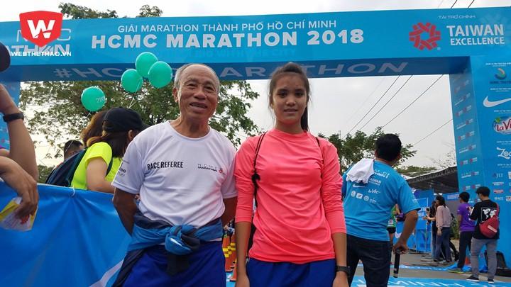HLV Bùi Lương và học trò Nguyễn Thị Ngọc Phương