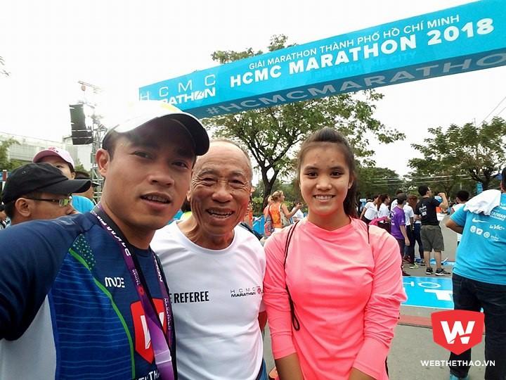 PV Webthethao cùng huyền thoại điền kinh Bùi Lương và học trò vô địch 21km