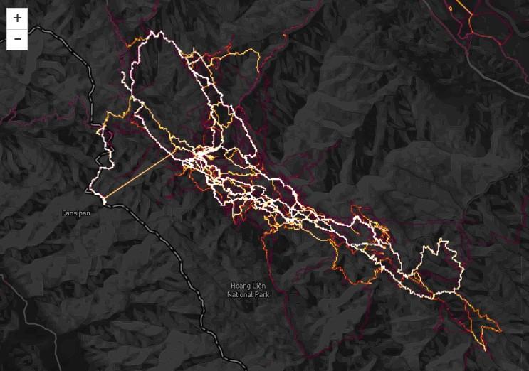 Sa Pa rực sáng bởi...đường chạy của giải Vietnam Mountain Marathon, giải chạy qui mô lớn nhất Việt Nam